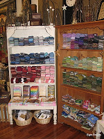 Items in a quilt shop