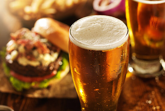 Beer and burgers at a Lancaster County restaurant