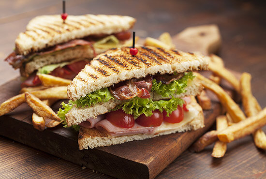 Panini sandwich is served at a top Lititz restaurant
