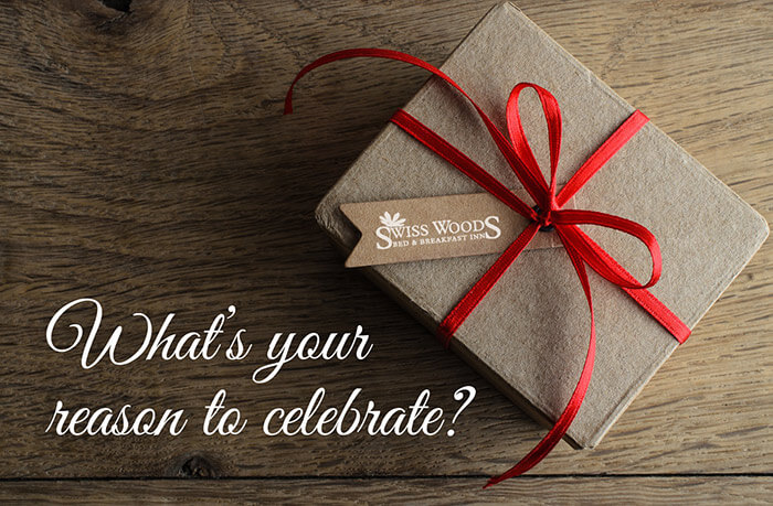 Swiss Woods Gift Box - What's your reason to celebrate?